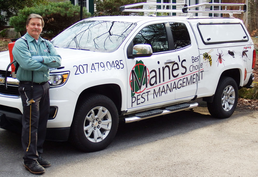 Ken Colpaert owner Maines Best Choice Pest Management